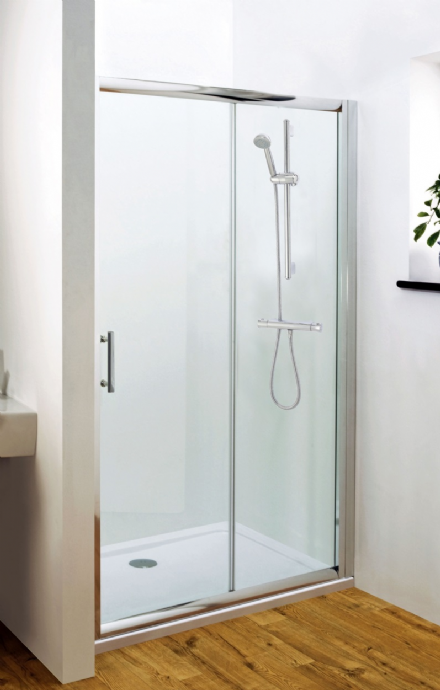 Pacific 1000mm Single Sliding Shower Door
